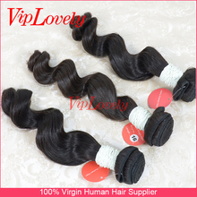 cheap soft brazilian virgin hair loose wave