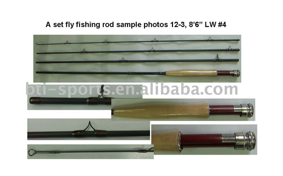 A set fly rod 8'6'' #4 4sec (12-3)