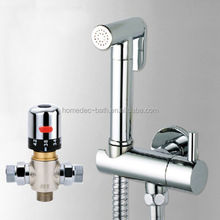 Bidet Toilet Spray Head,Portable Bidet Shattaf faucet thermostatic valve