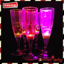 Promotional top quality led shot glass/cup