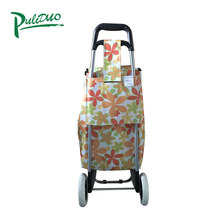 Supermarket Folding Shopping Trolley Bags With Wheels