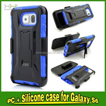 Armor Cover PC+Silicone Case For Samsung Galaxy S6