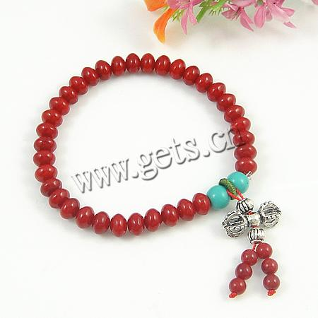 2015 Gets.com turquoise red coral tagging bracelet
