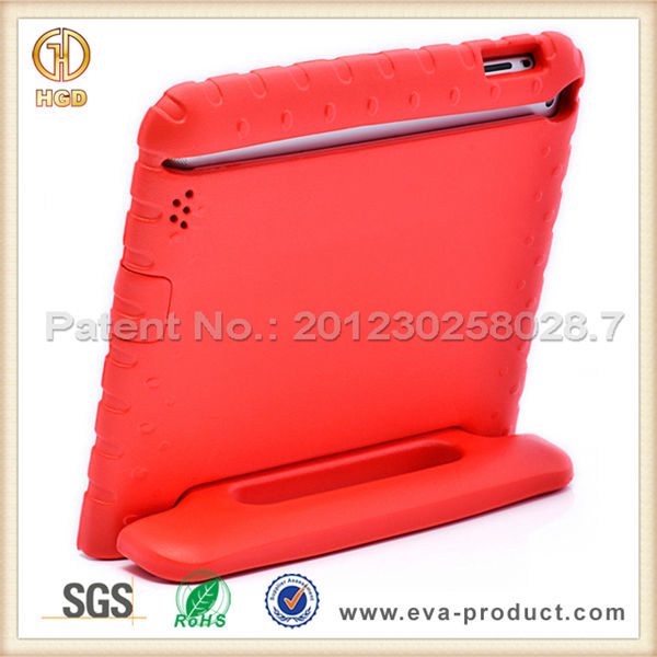For ipad protector cases for kids dirt proof safe foam rugged case for ipad