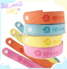SCD-05-07 Slap Bracelet Waterproof Non-toxic No Deet No BPA Natural Herbal Ingredients Mosquito Repellent