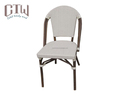 Restaurant furniture french bistro dining chair and table