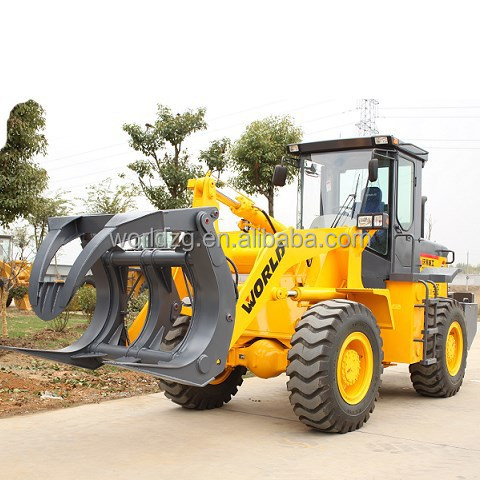 china made brand new wood log loader with 3ton rated load