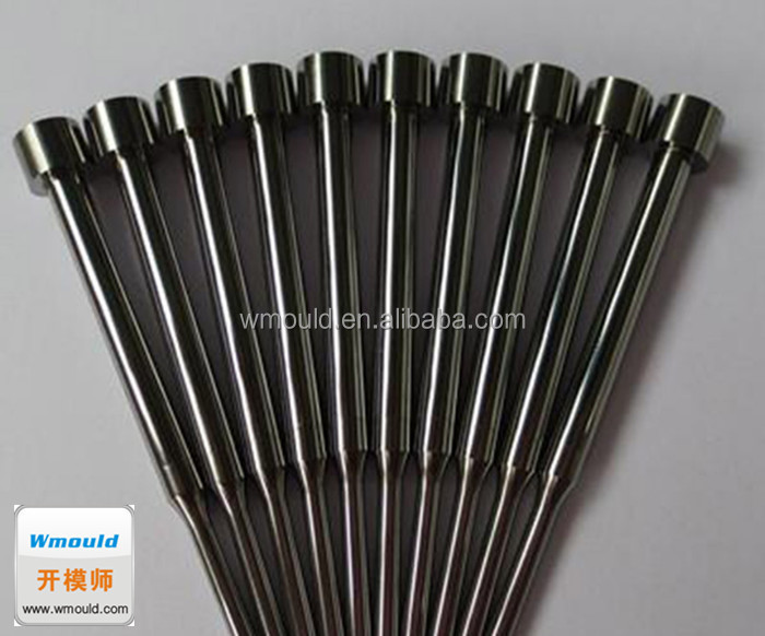 Black nitrogenization azotize antirust anticorrosive ejector pin for large mould
