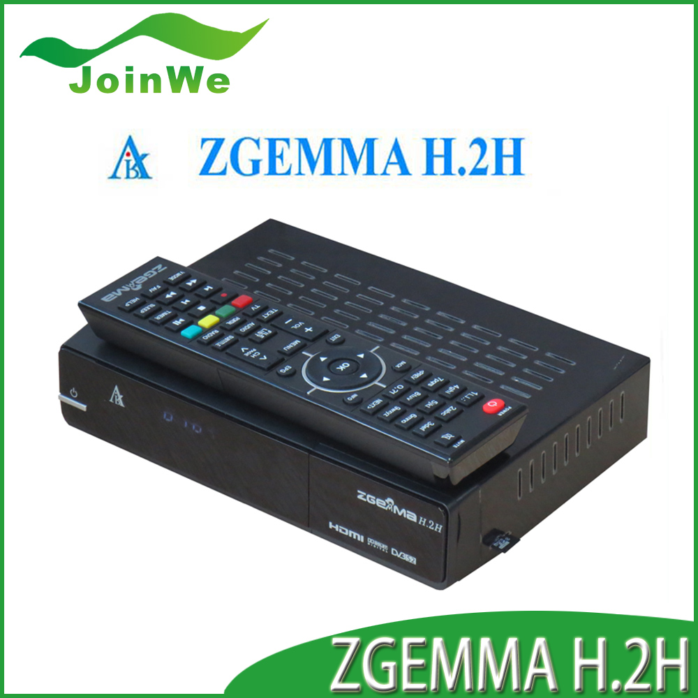 New Products ZGEMMA H.2H combo dvb s2 dvb t2 digital satellite receiver software download with enigma2
