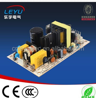 CE ROHS 45W open frame ac power supply pcb
