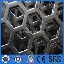 High quality punching hole wire mesh/PVC coated perforated metal sheet