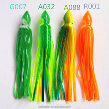 Hot Sale! 14cm 7.5g Octopus Skirt Lures Fishing Baits Fishing Lure Skirts Soft Plastic Squid Fishing Bait