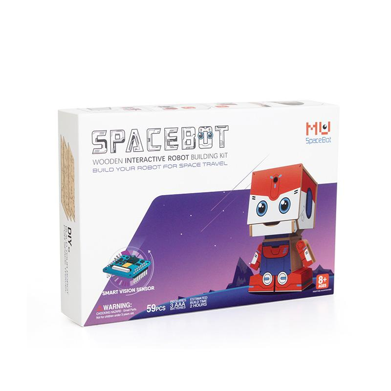 MU SPACEBOT STEAM Education Programming Al Robot Kit trade assurance