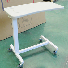 best quality hospital bedside table , folding overbed table , adjustable over bed table