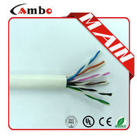 1000FT 4 Pair 0.51mm Solid Copper interior low voltage utp cat5e cable