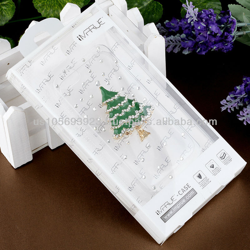 Handmake Diamond Christmas Tree Phone case for Iphone 5/5s