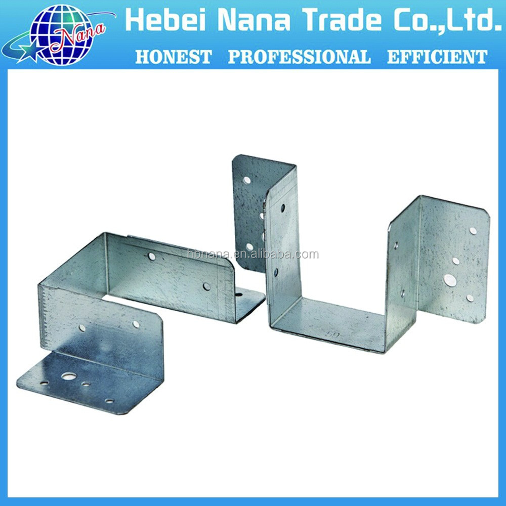galvanized wood timber / steel brackets for timber / structural steel hanger