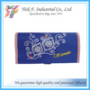 Elegant flower Printed Personalize Blue Color Nylon Cosmetic Bag