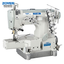 ZY600-01CB Zoyer Pegasus Cylinder Flat Bed Interlock industrial Sewing Machine