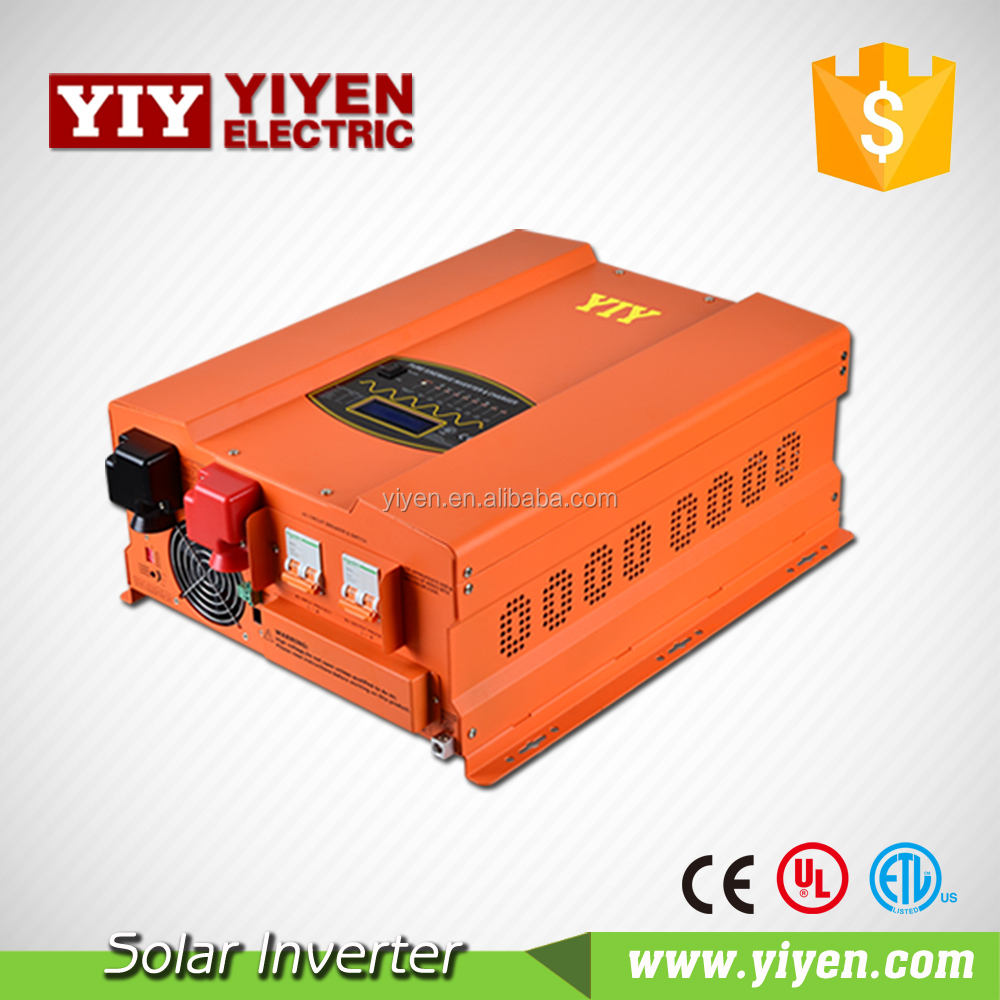 dc to ac 5000w power inverter with charger dc ac ups inverter with charger split phase transformer price