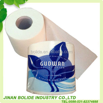 110g/roll virgin pulp toilet tissue