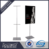 Factory price adjustable angle outdoor advertising display stand