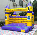 Yellow brick bouncy castle inflatables