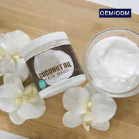 Hot Sale natural organic coconut oil hair mask for hair treatment