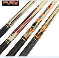 High Grade FURY pool cue, Snooker cue, Billiard fury cue