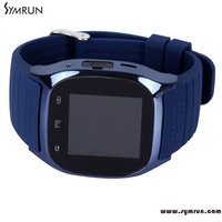 Symrun M26 Bluetooth Smart Wrist Watch Phone For Android Samsung Smartphone With Camera Remote Sport Smartwatch
