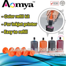 Color Refill Kits (with ink cartridge tools) for HP,Canon,Lexmark,Samsung,Epson and Brother printers