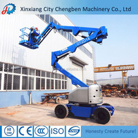 Safety and efficient aerial platform motorcycle lift table for electricity working platform