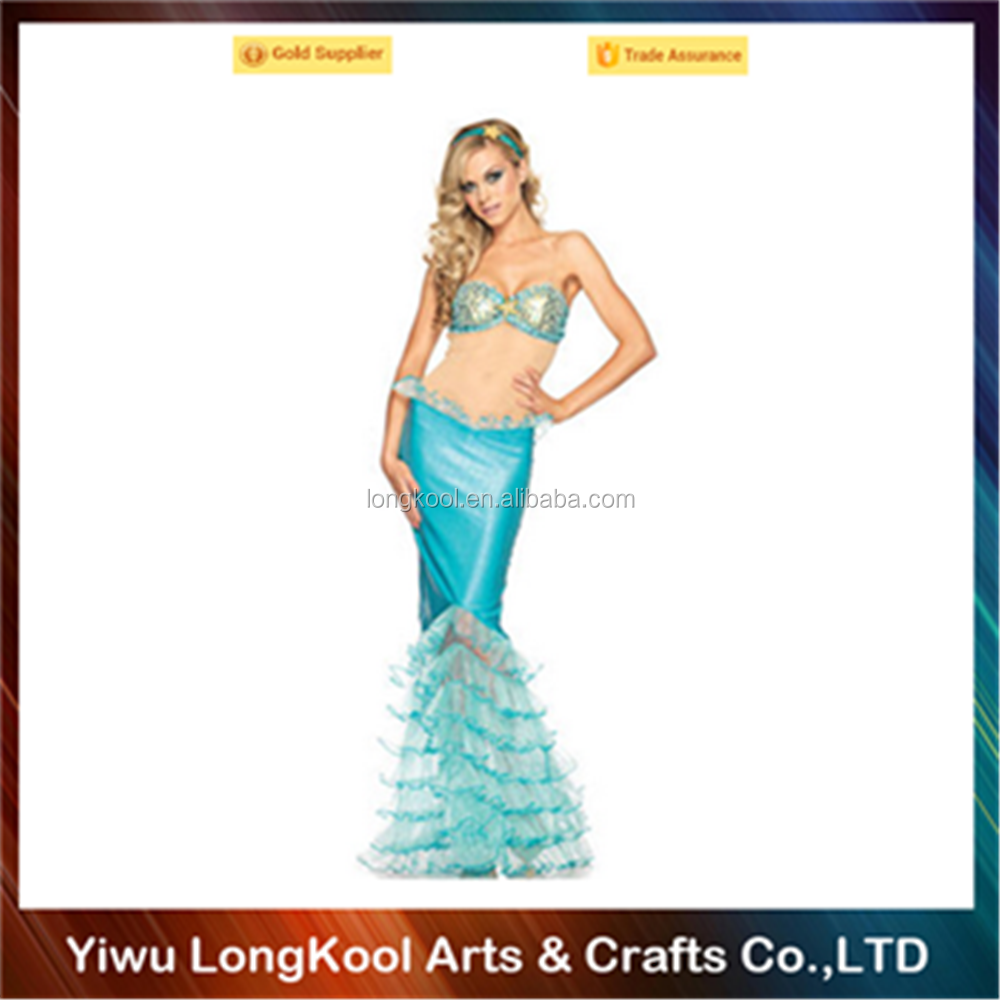 Wholesale beautiful women cosplay costume party dance sexy mermaid costume