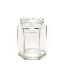 4 Sizes Stainless Steel Lid Large Glass Jar Wide Mouth