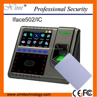 Good quality high speed Iface502 face +fingerprint time attendance and access control TCP/IP communication l