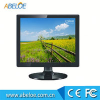 17 inch cheap desktop lcd monitor with DC 12V