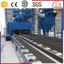 Automatic H Beam/Steel Plate Roller Conveyor Shot Blast Cleaning Machine Manufacturer