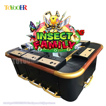 Insect Family fishing game machine Dragon King Arcade Machine Fish table Cheat arcade shooting fish game table gambling