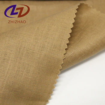 Yarn dyed pure linen cloth material woven fabric for garment