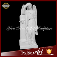 Western Garden Decor Angel Stone Sculpture