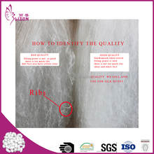 Factory wholesale 100% Natural machined made mulberry silk batting
