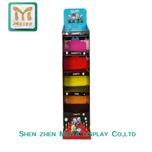 Retail Low Price and High Quality Paper Material Advertising Cardboard Display Stand with Heavy Duty