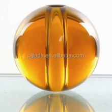 TOP SALE clear quartz crystal ball wedding decoration Crystal ball with hole