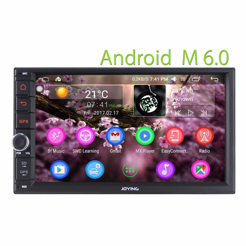 JOYING Car gps Navigaiton System Auto Stereo Video system 2gb Ram 32gb Rom Android dvd player for universal