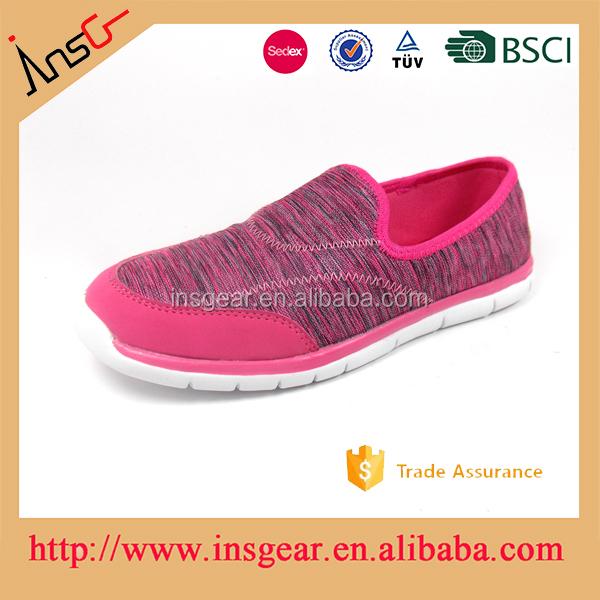 UK and USA slip on lazy soft breathable mesh casual shoes outdoor in sale