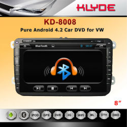 Original Manufacturer!! For Passat With Can Bus Car DVD Player 2 Din Car Dvd Player