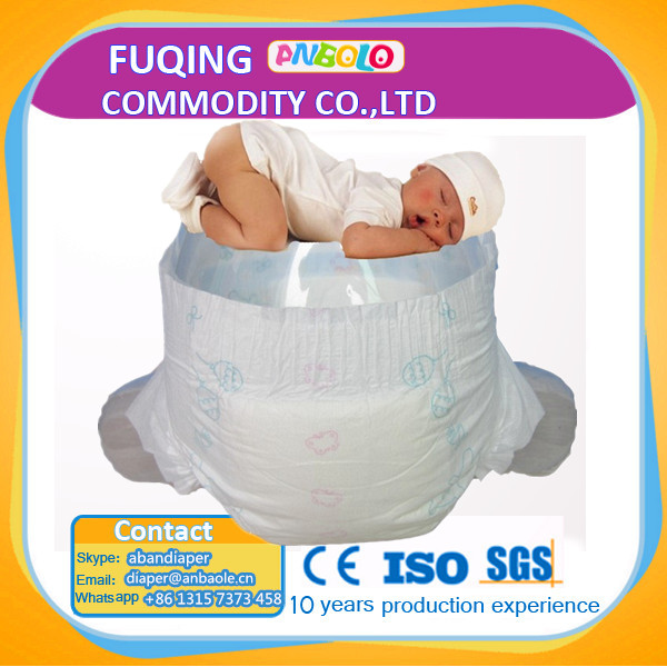 Fujian Factory Price Super Soft And Breathable Pampering Sleepy Baby Diaper