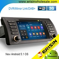 "Erisin ES3061B 7"" Car Audio System with GPS Navigation for E39"