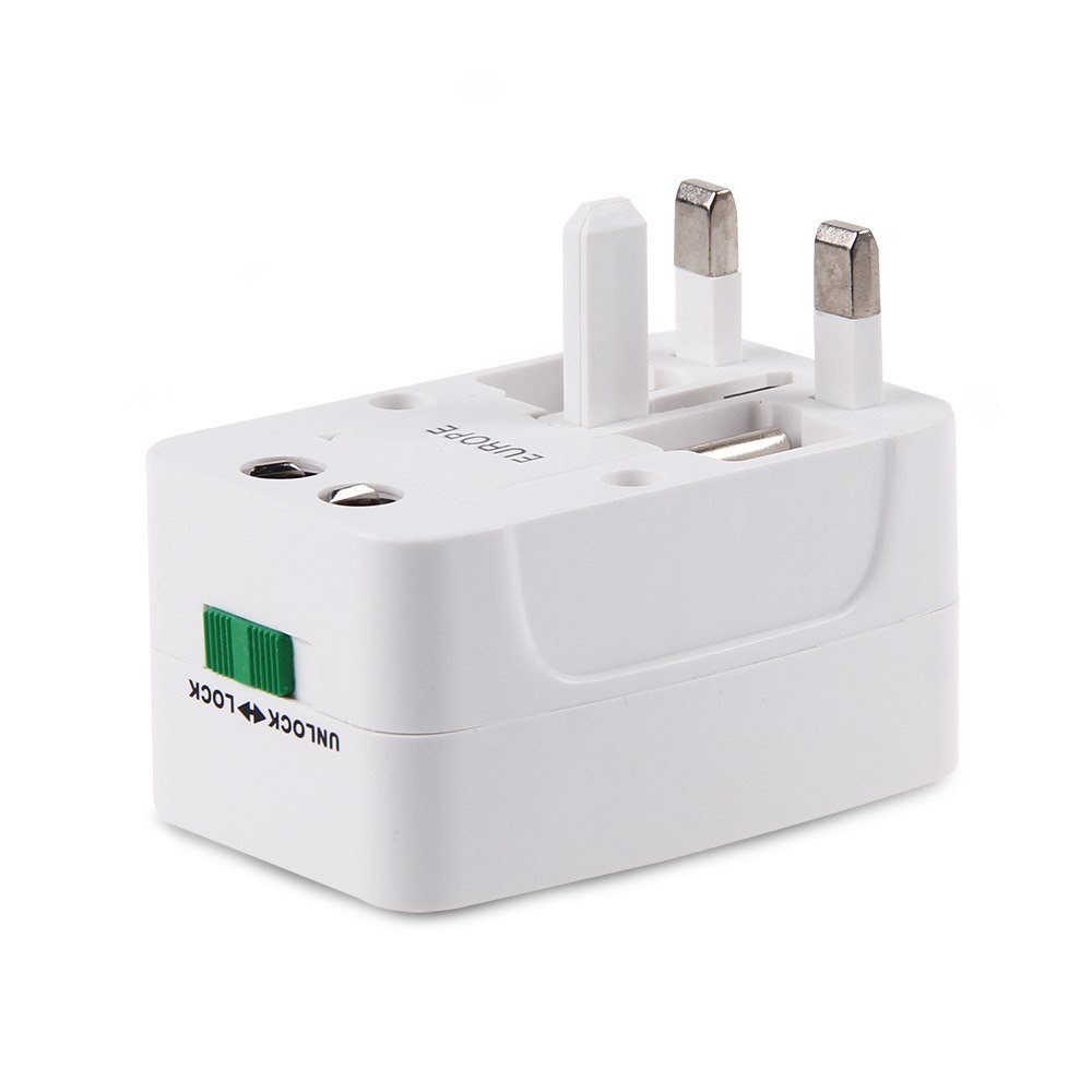 Universal Adapter Plug Socket Comverter Travel Electrical Power Adapter Plug