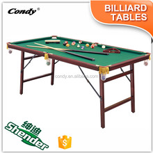 Shender fun folding 3ft 5ft 6ft mini table billiard table with accessories